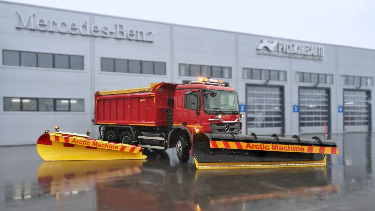 mercedes-arctic-machine-demo-kiertue-venajalla